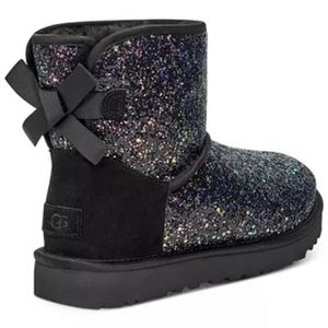 UGG Women's Classic Mini Bow Cosmos Boots
